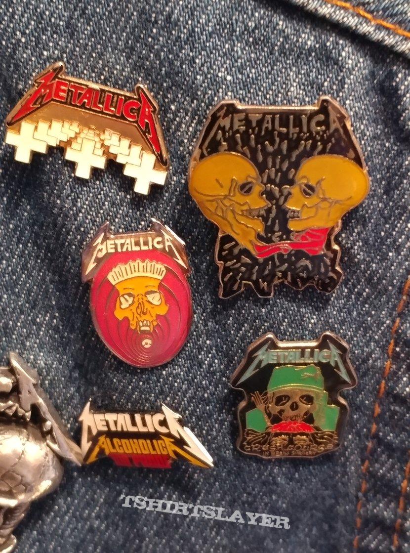 Metallica enamel pins