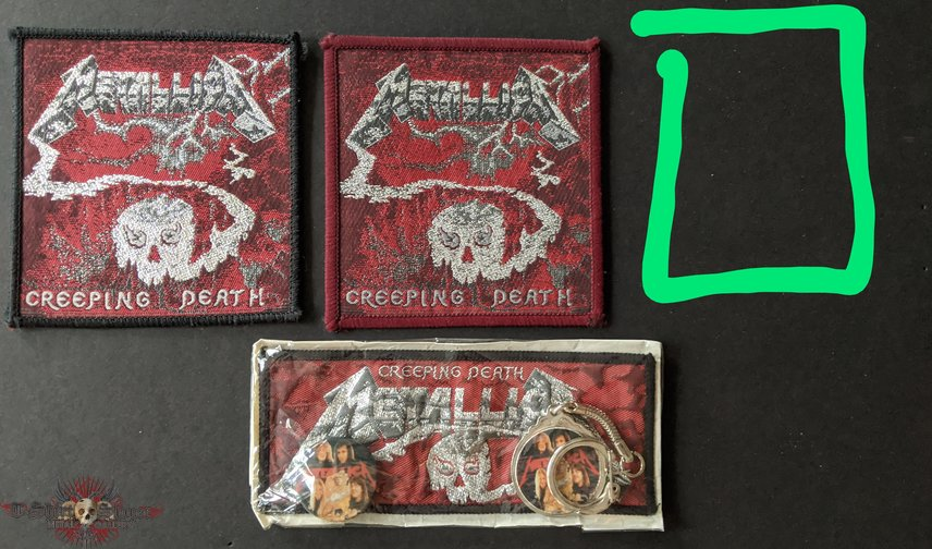 Creeping Death patches
