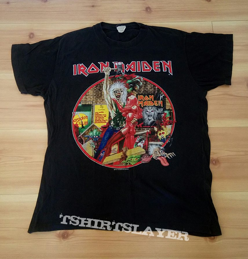Iron Maiden - bring your daughter to slaughter tour 1990