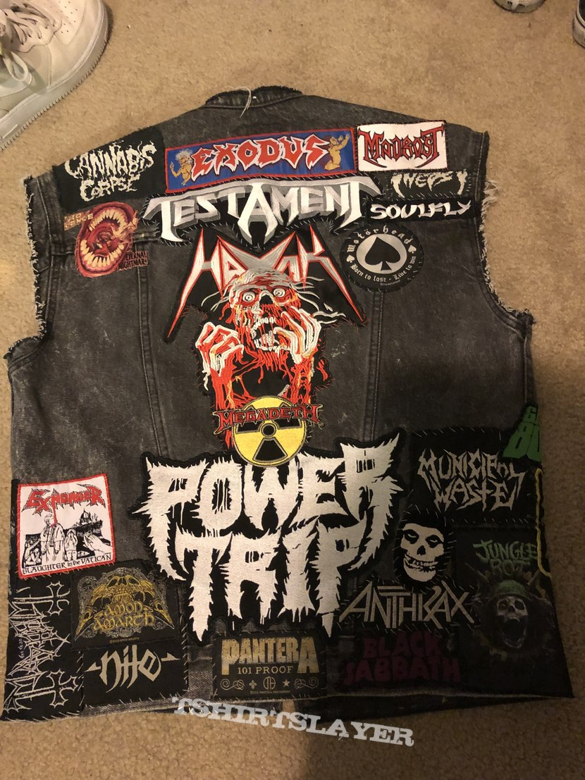 My battlejacket update 2