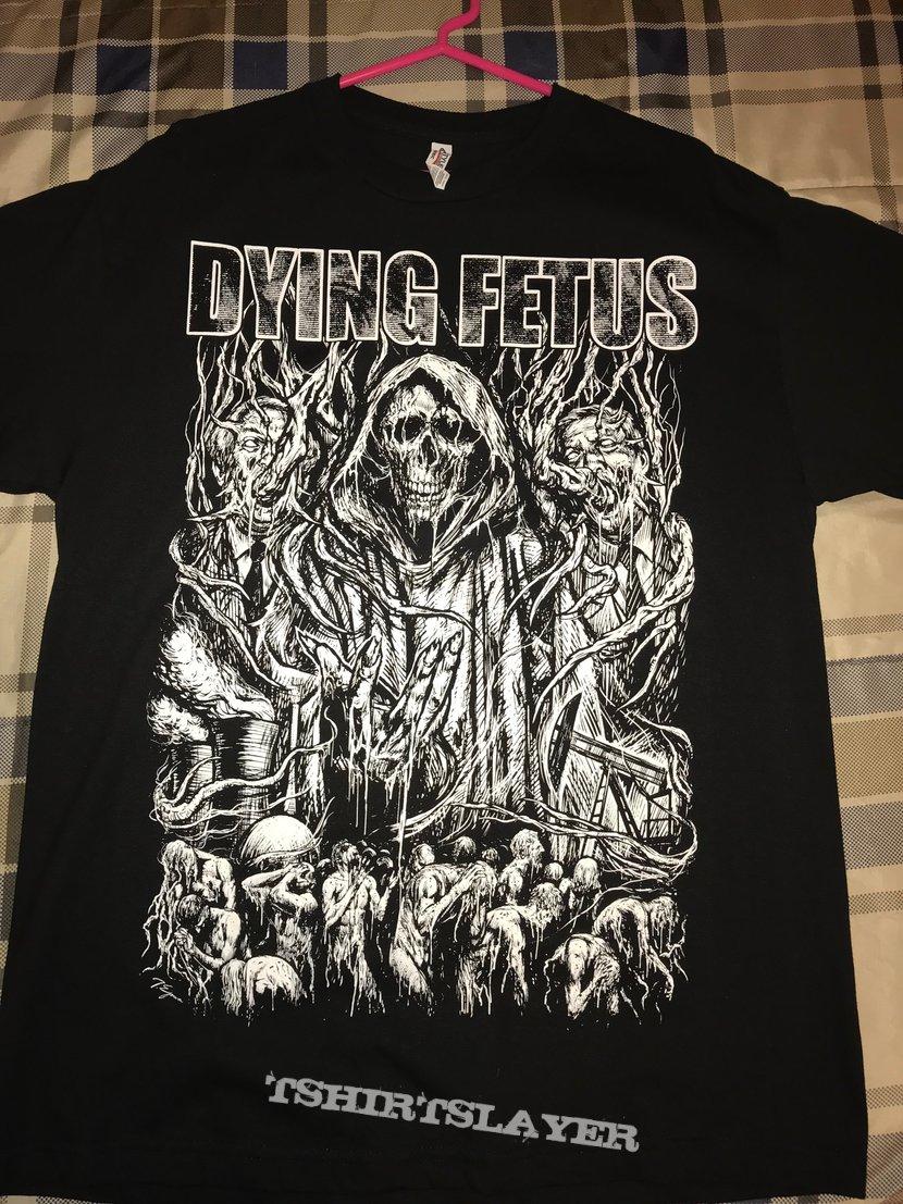 125ad264f7cc Dying Fetus - Old School shirt | TShirtSlayer TShirt and ...