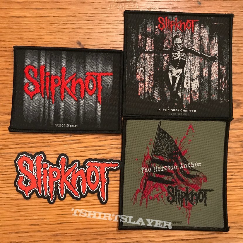 Slipknot woven patches
