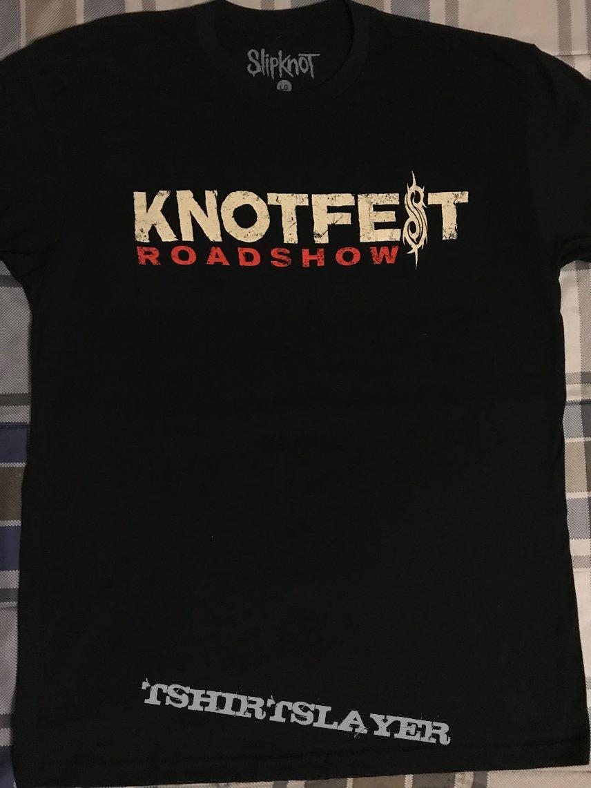 Slipknot's Knotfest Roadshow Tour Shirt