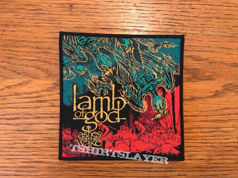 Lamb Of God - Ashes of the Wake woven patch