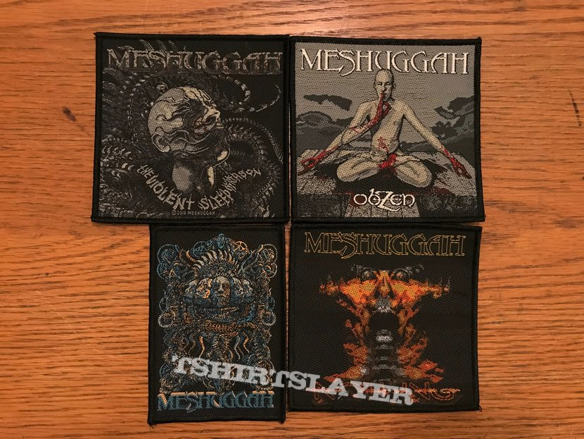 Meshuggah Woven patches