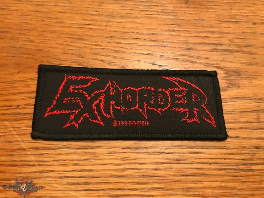 Exhorder woven patch