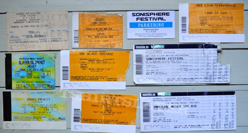 The last bunch of tickets i promise!