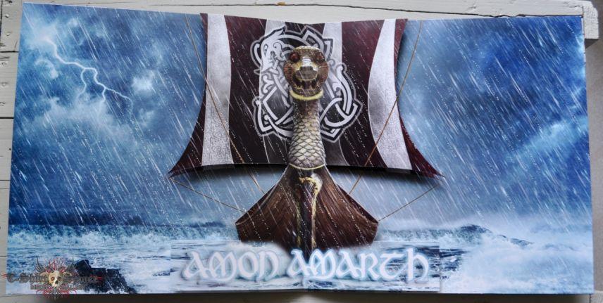 AMON AMARTH Jomsviking Original Gold Vinyl