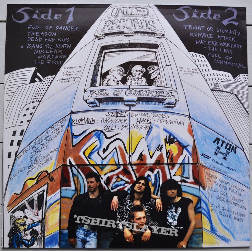 RUMBLE MILITIA Fuck Off Commercial Original Vinyl