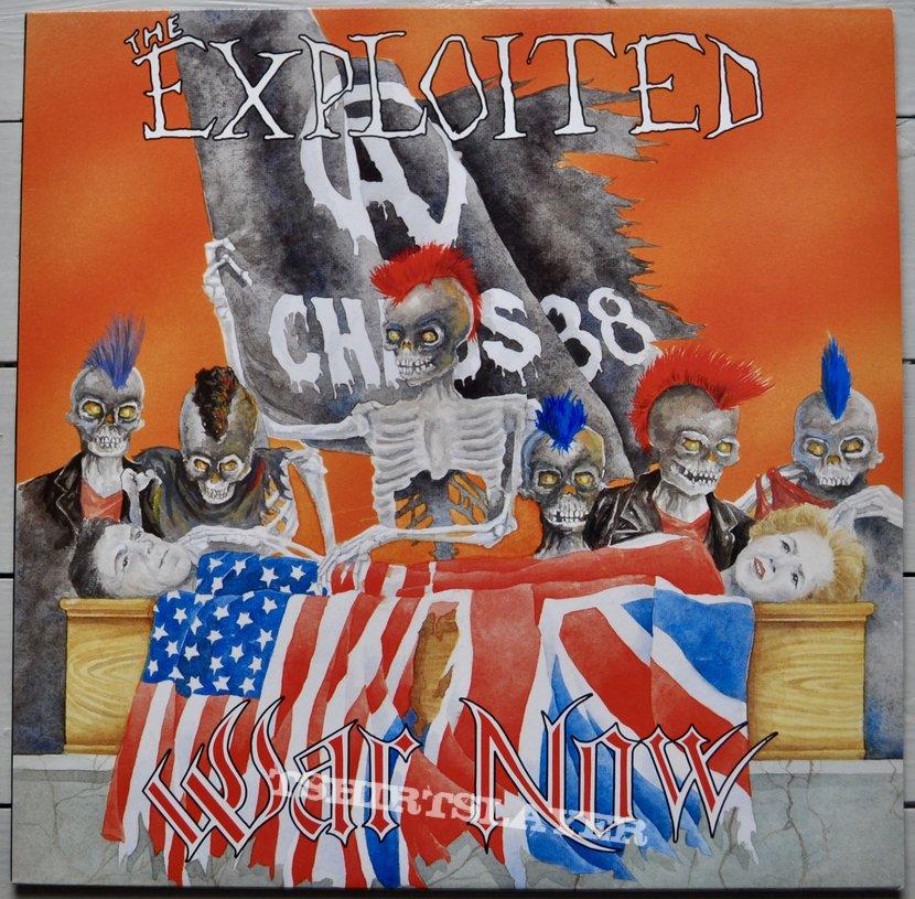 The Exploited – War Now Vinyl