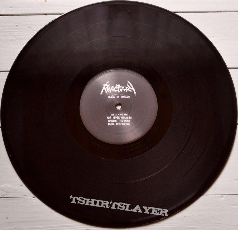 REACTORY Killed By Thrash Original Vinyl