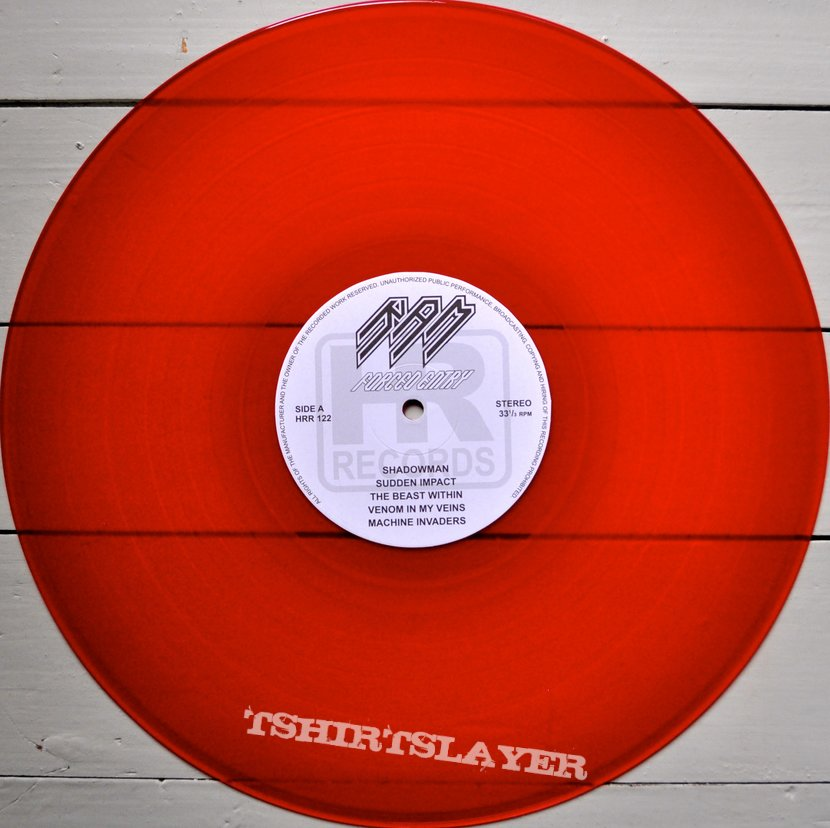RAM Forced Entry Original Red Vinyl