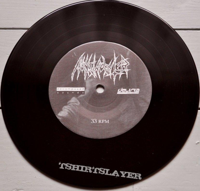"""NunSlaughter / Derketa Evil Dreams / Begotten Son 7"""" Original Vinyl"""