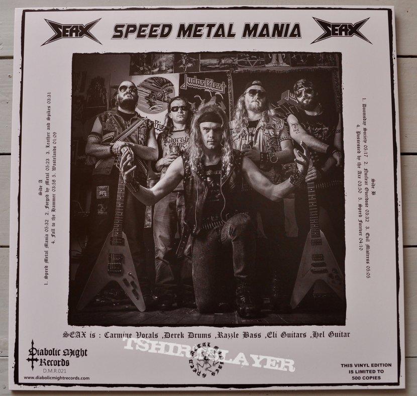 Seax – Speed Metal Mania White Vinyl