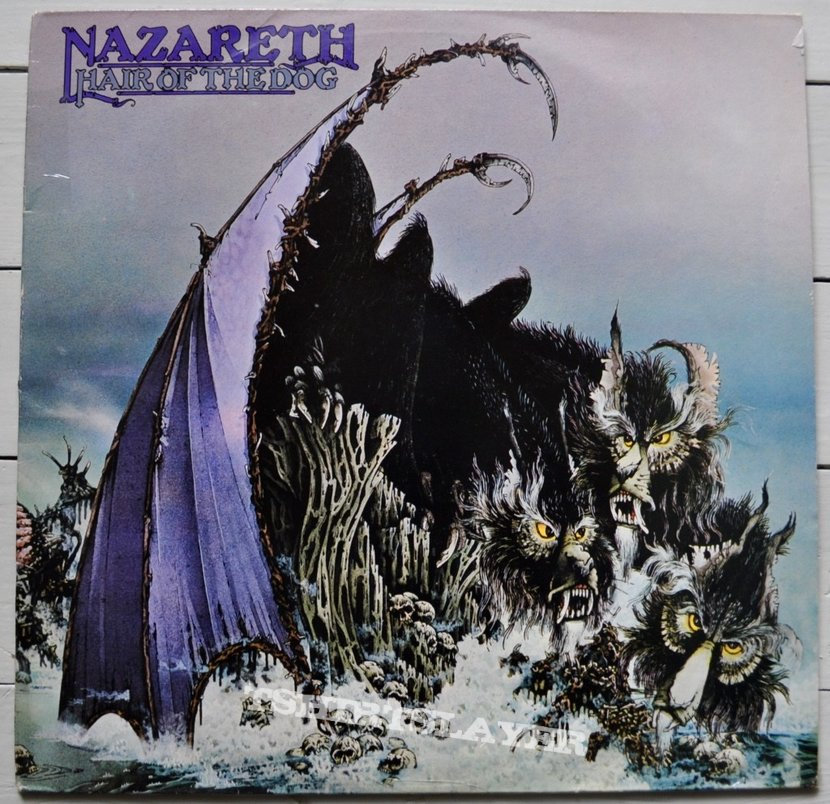Nazareth Hair Of The Dog Original Vinyl Tshirtslayer