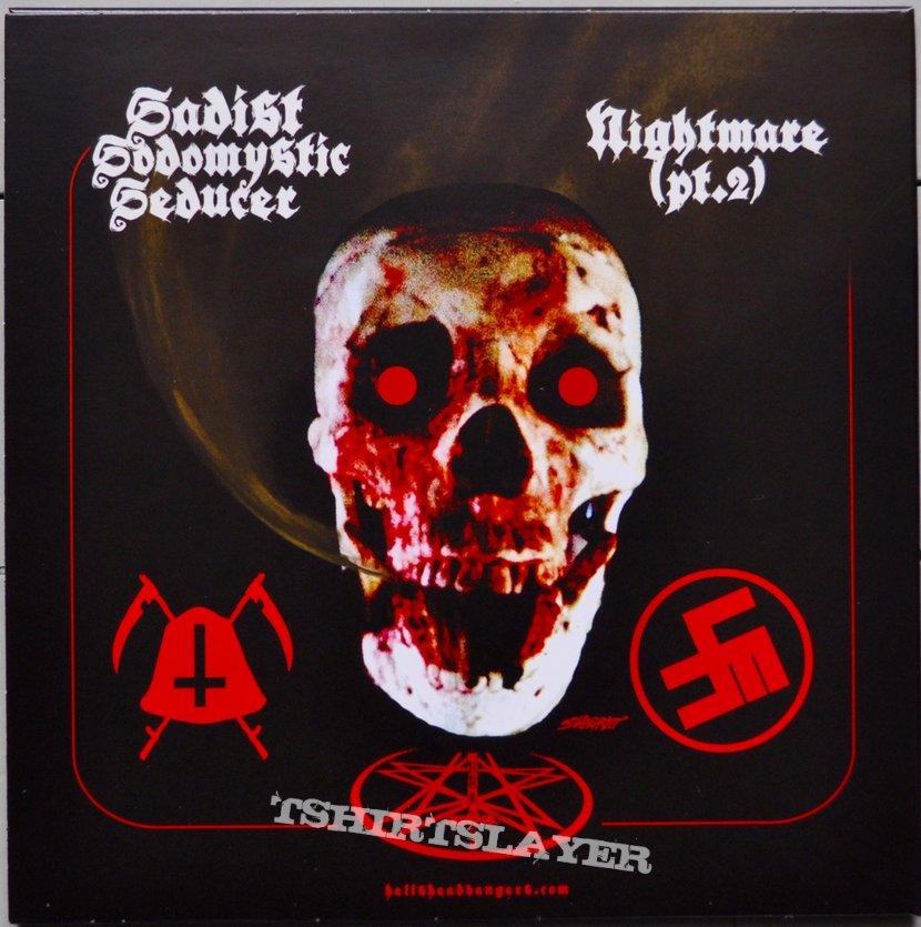 """Midnight / Shitfucker Split 7"""" Original Vinyl"""