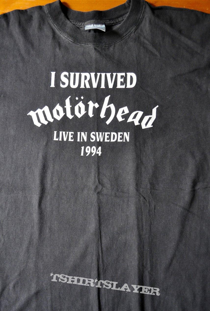 MOTÖRHEAD - I Survived Motörhead - Live In Sweden 1994