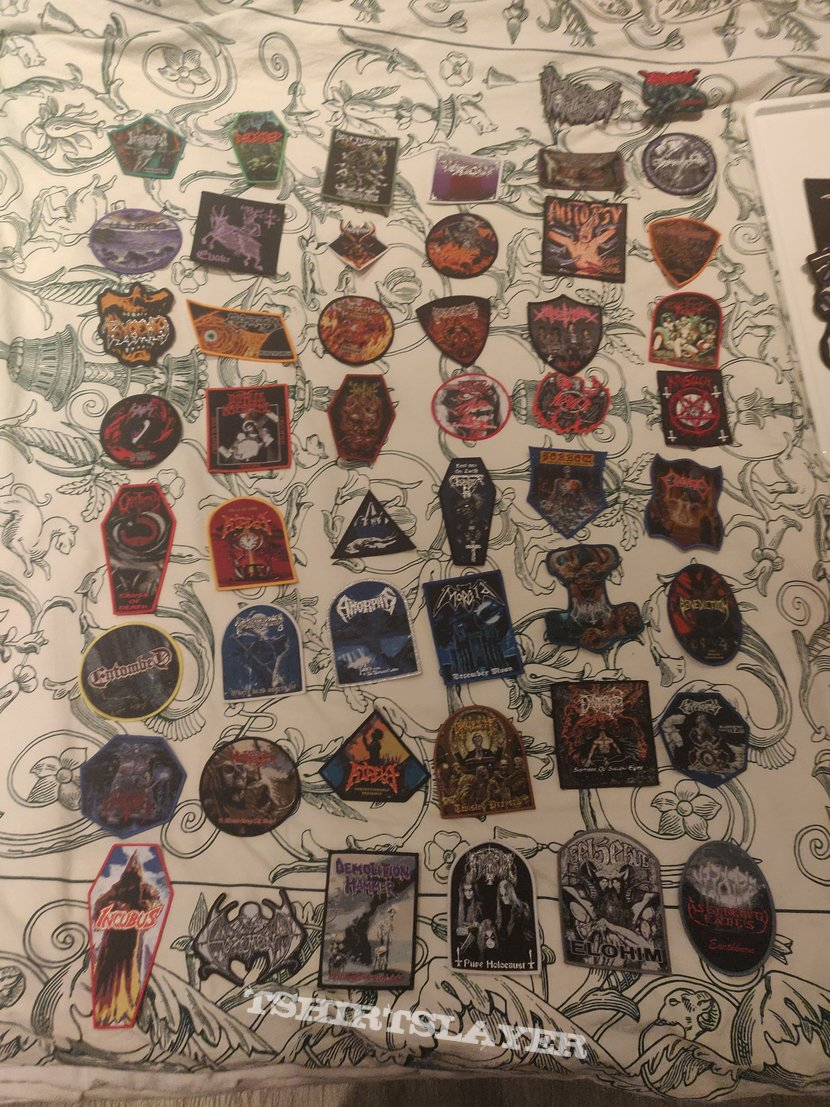 My patch collection of 2019