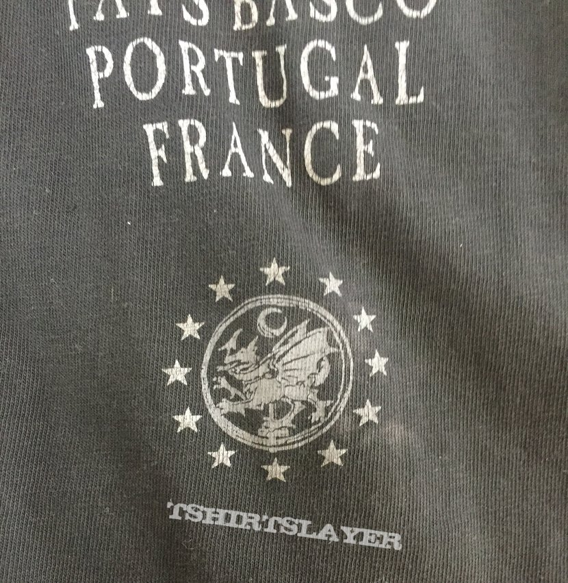 CRADLE OF FILTH Rape and Ruin of Europe tour longsleeve