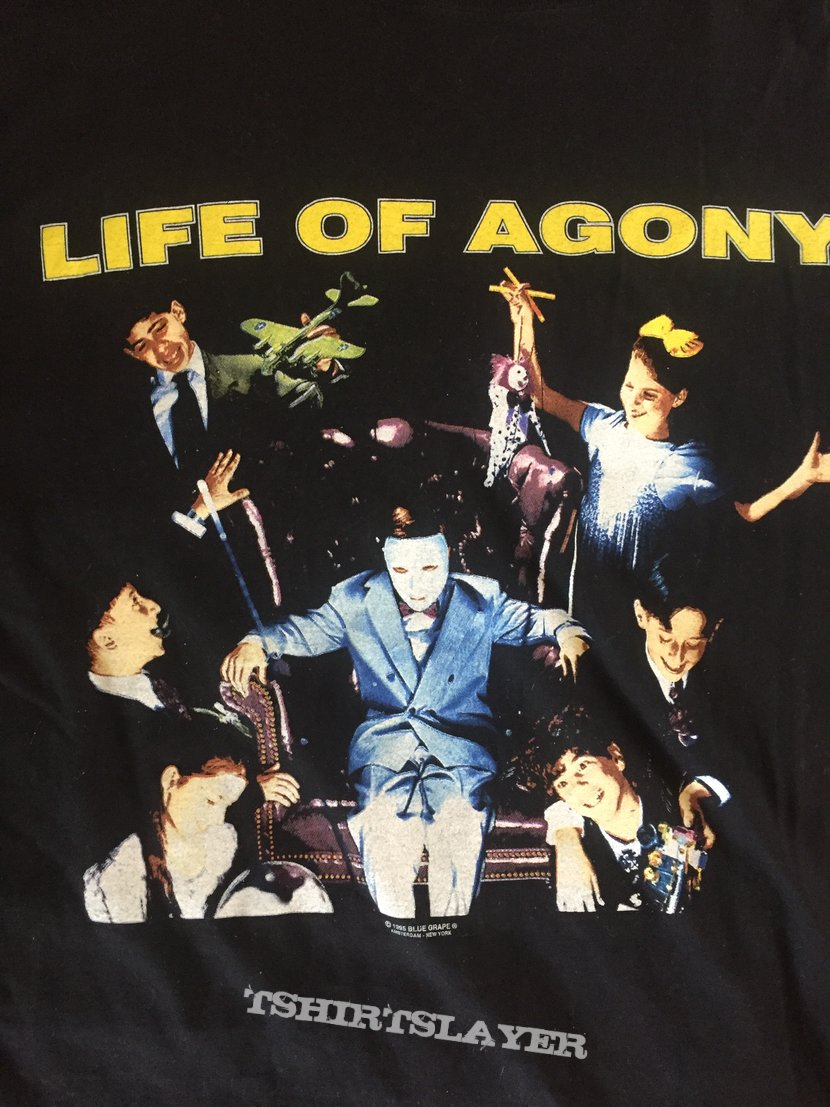 LIFE OF AGONY Lost At 22 European Tour Longsleeve