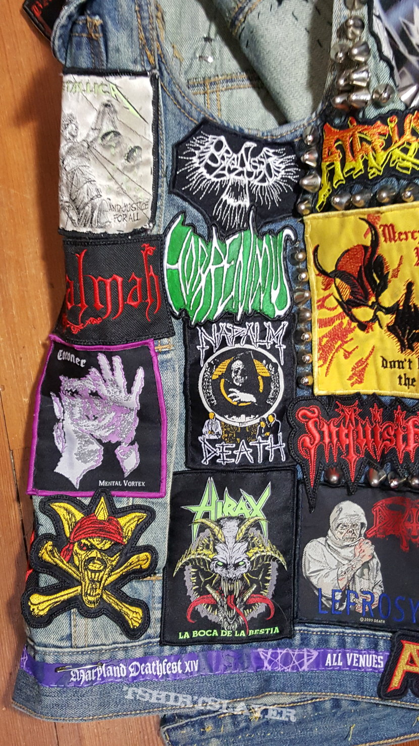 DeathMetalCraze Battle Jacket update