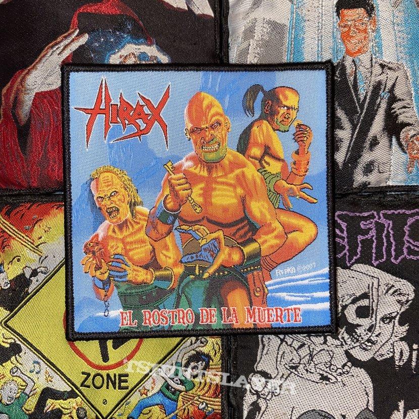 Hirax - El Rostro De La Muerte Official Woven Patch