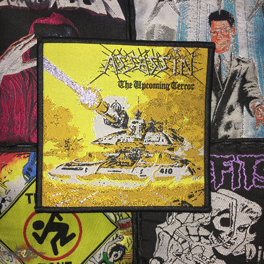 Assassin - The Up Coming Terror Woven Patch