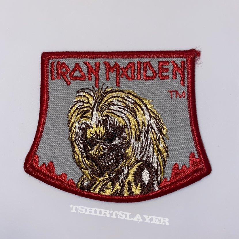 Iron Maiden - Killers Original Embroidered Patch