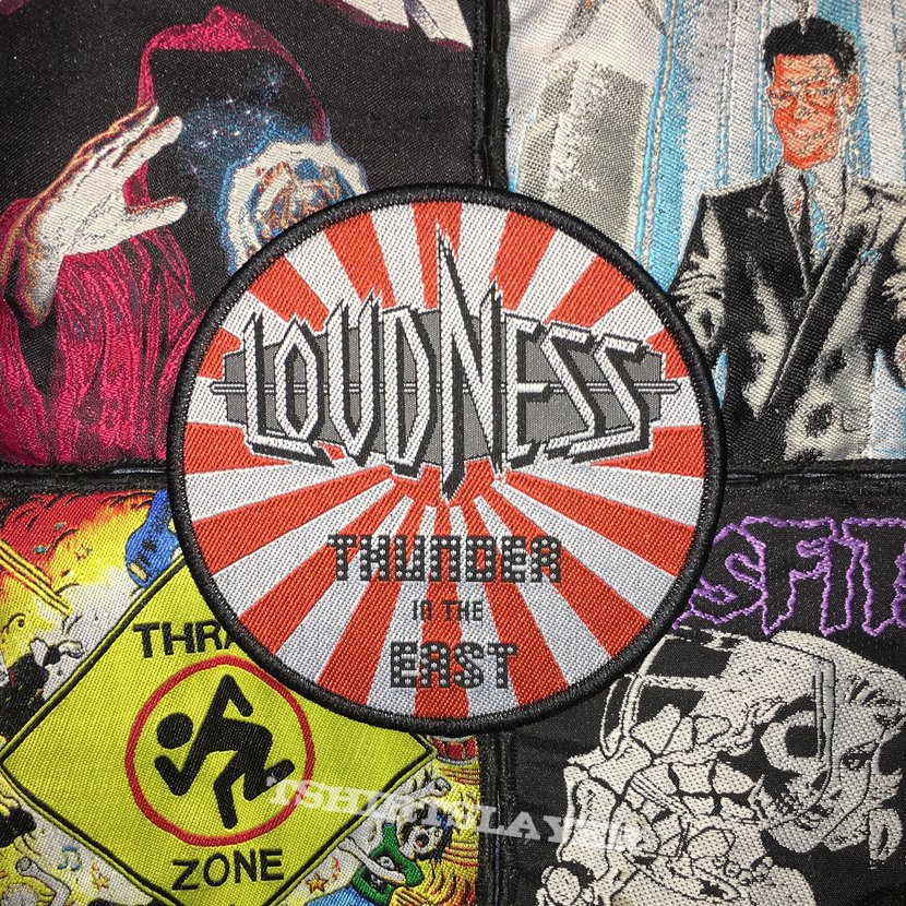 Loudness - Thunder In The East Woven Patch