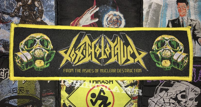 Toxic Holocaust - From The Ashes Of Nuclear Destruction Woven Strip Patch