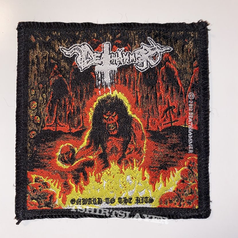 Deathhammer - Onward To The Pits Woven Patch