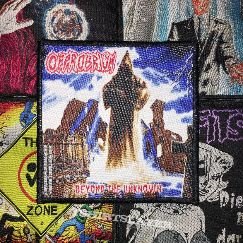 Opprobrium - Beyond The Unknown (Official) Woven Patch