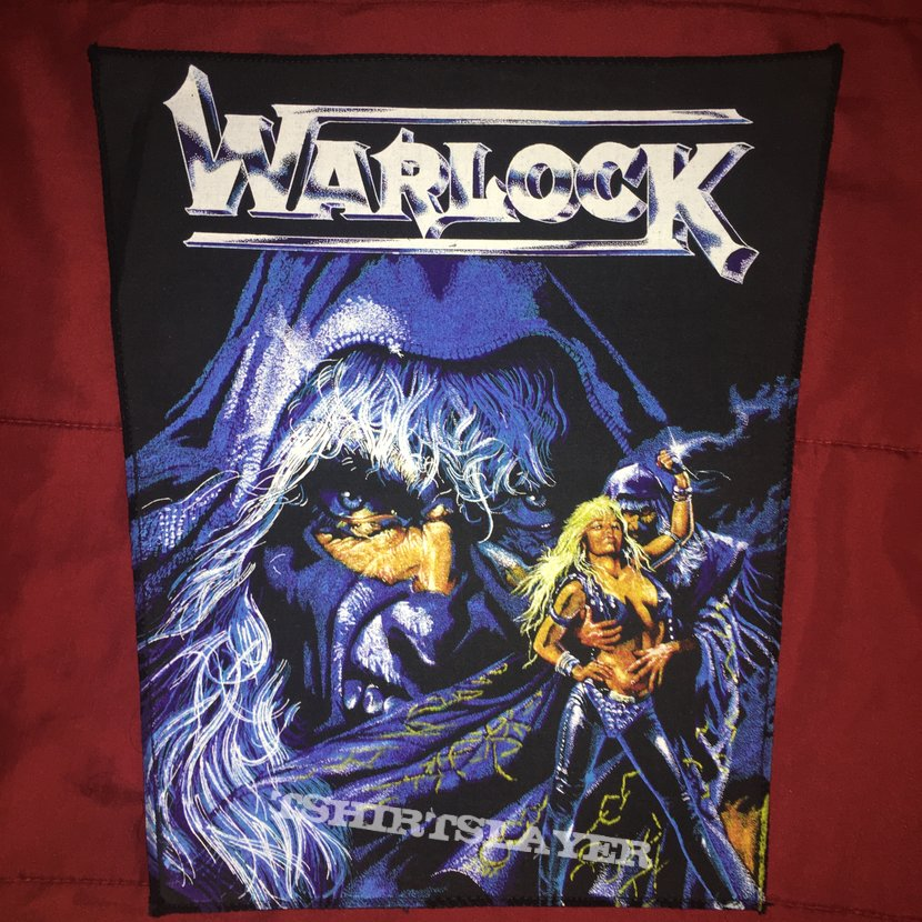 Warlock - Triumph And Agony Backpatch