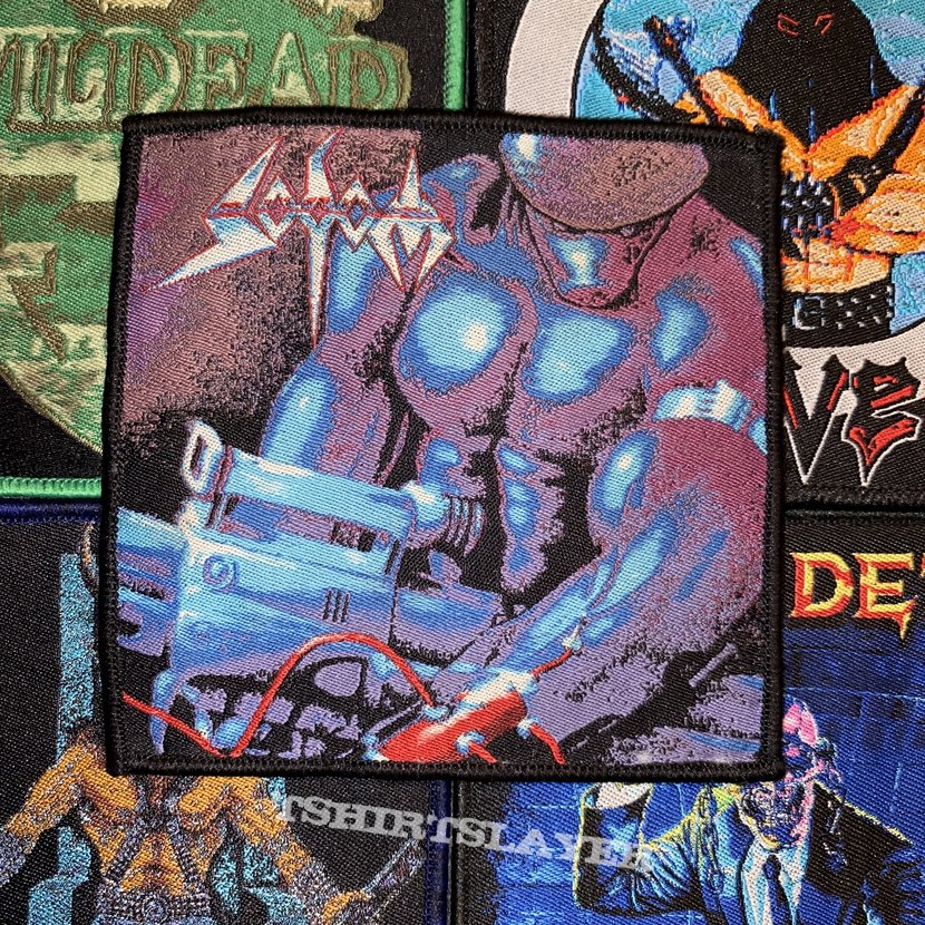 Sodom - Tapping The Vein Woven Patch