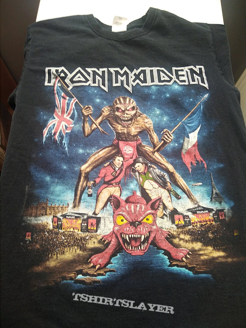 Iron Maiden Download Festival 2016 Shirt | TShirtSlayer