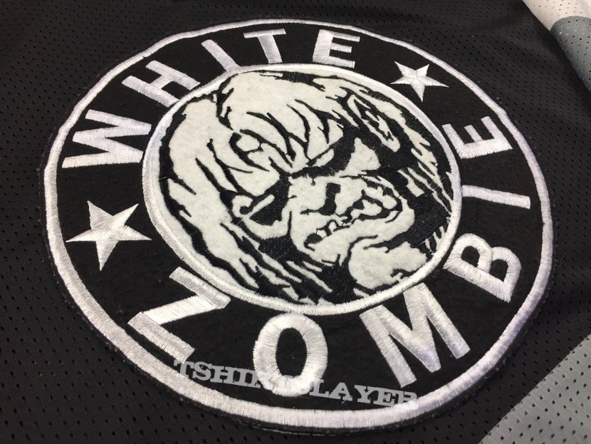 90's GEM White Zombie Hockey Jersey