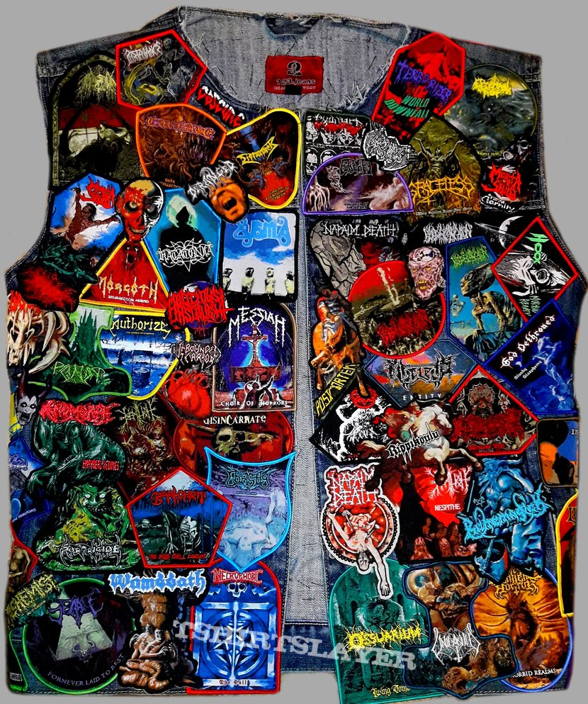 Pull the Plug Patches vest
