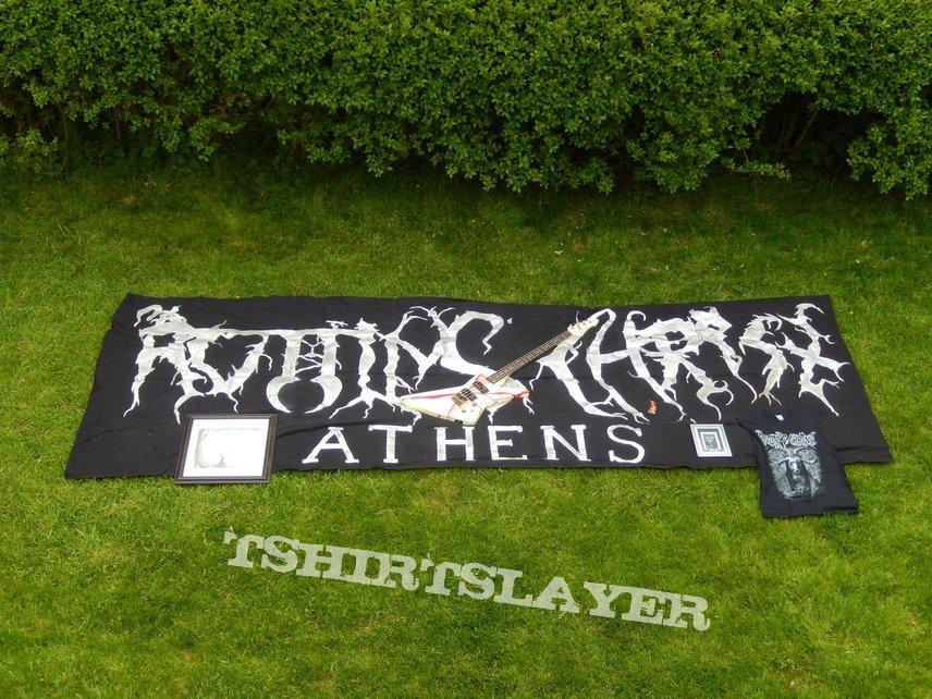 Massive Rotting Christ Fan Flag
