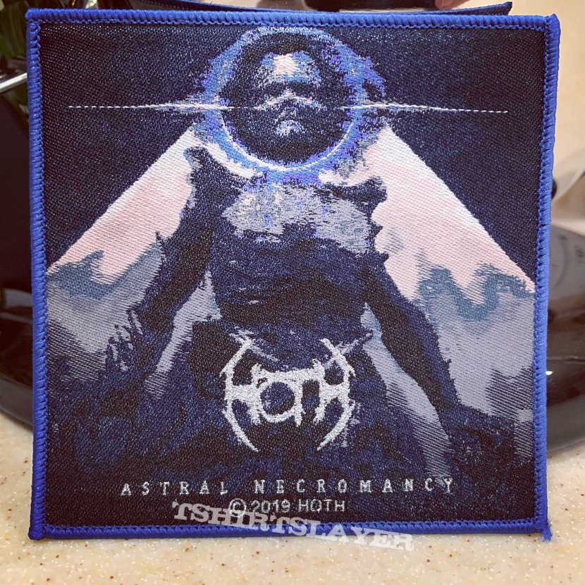 Hoth - Astral Necromancy woven patch.