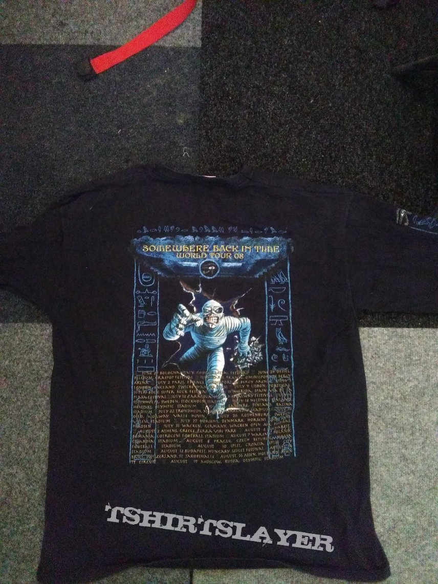 Iron Maiden - Somewhere back in time tour 2008