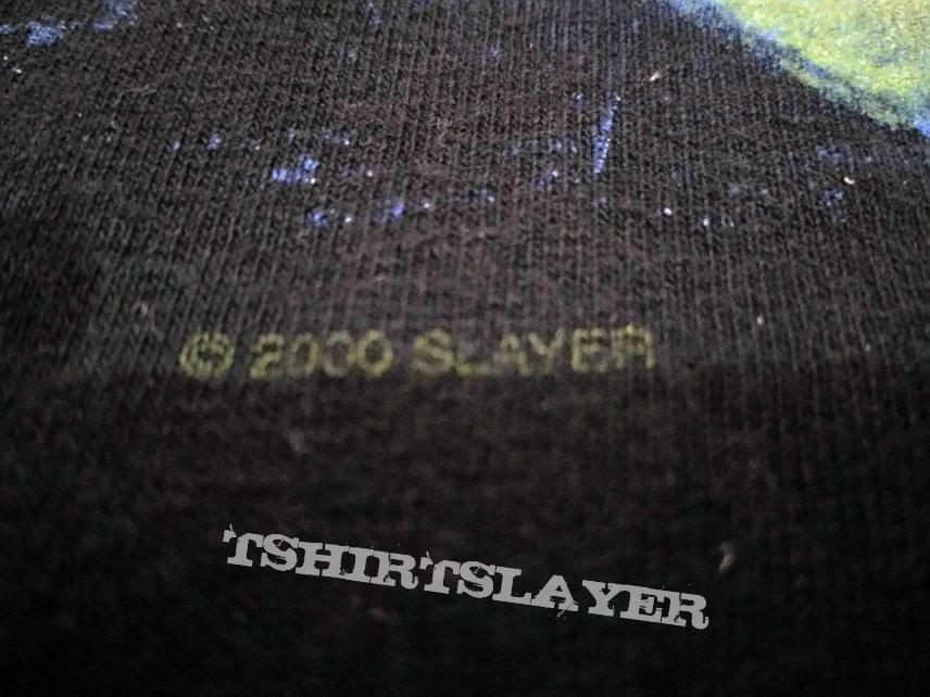 2000 Slayer Winterland Shirt