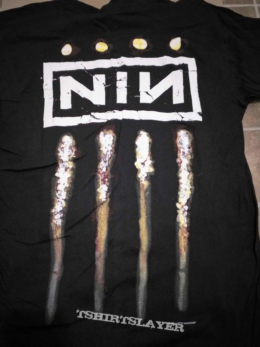 1994 Nine Inch Nails TheDownwardSpiral Shirt