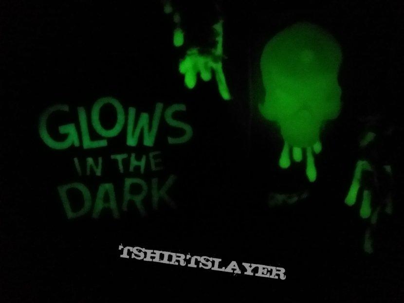My Thrash vest. Yes, it Glows in the Dark.