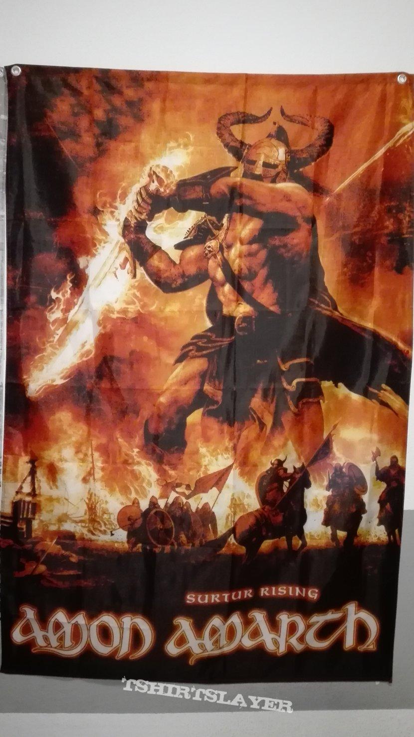 Amon Amarth Surtur Rising Flag