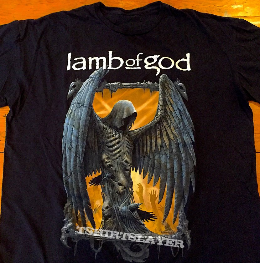 bcdddaac1a9 Lamb Of God North American 2018 Tour T Shirt