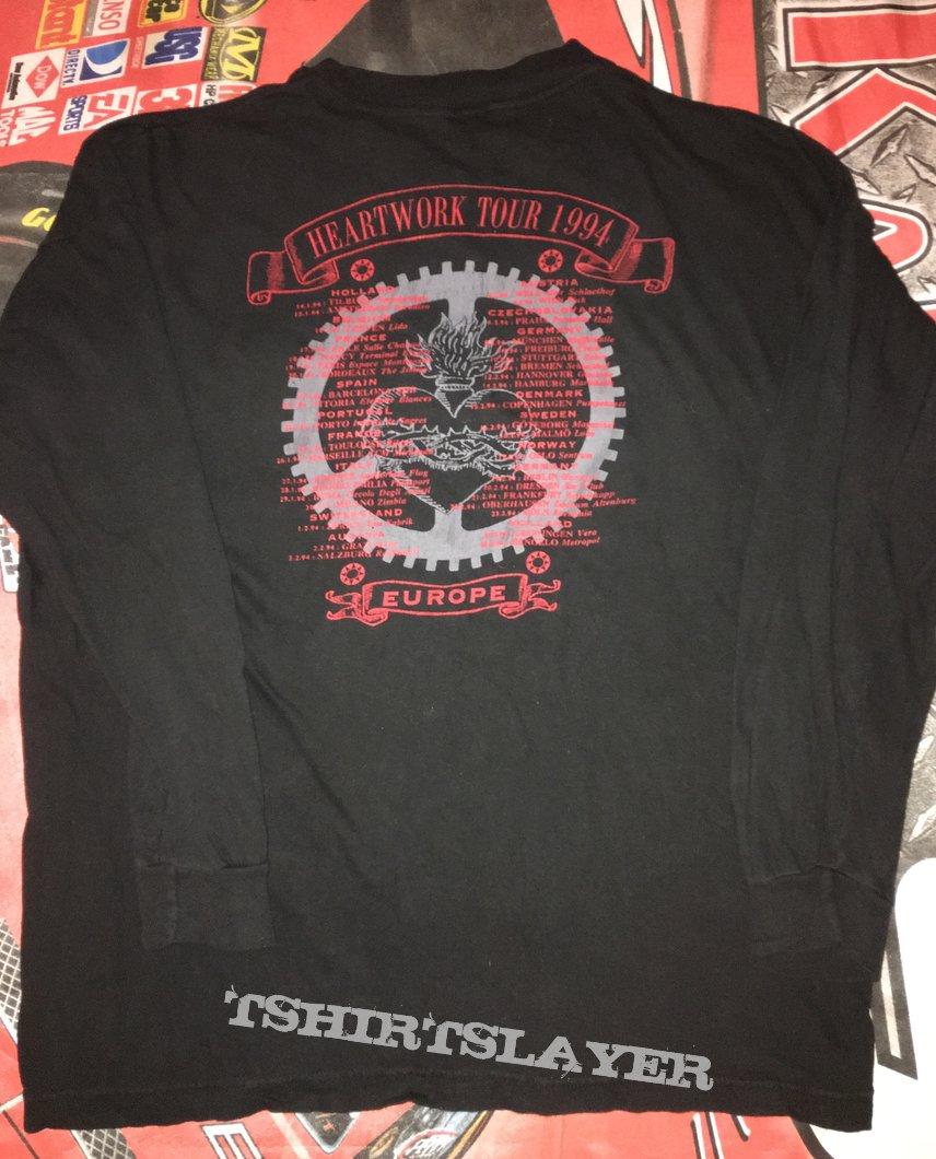 Carcass 'Heartwork' Tour L/S Shirt