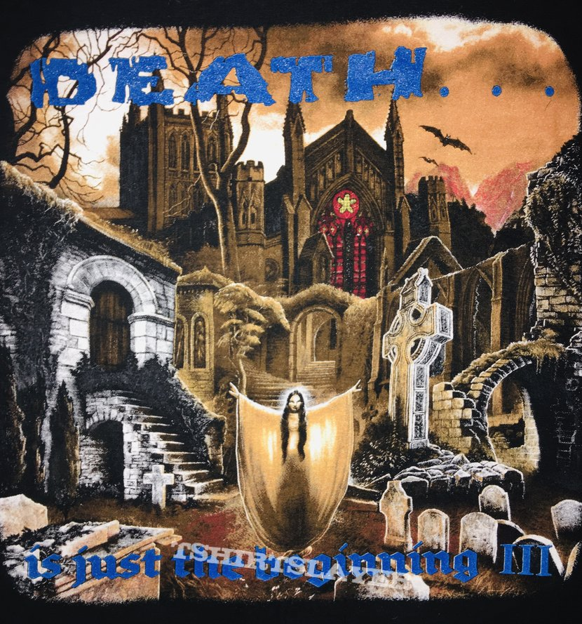 Nuclear Blast '94 'Death Is Just the Beginning III' T-Shirt