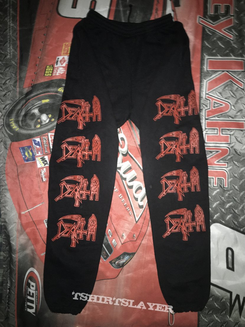 Death: Logo (Jogging Trousers Size XL)