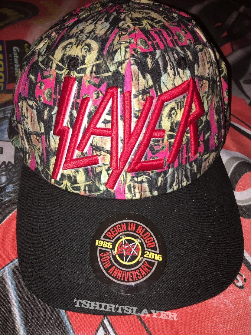 Slayer 'Reign In Blood' Theme Cap