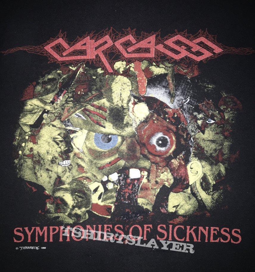 Carcass 'Symphonies of Sickness' Sweatshirt